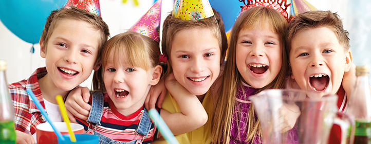 Birthday parties at East Riding Leisure